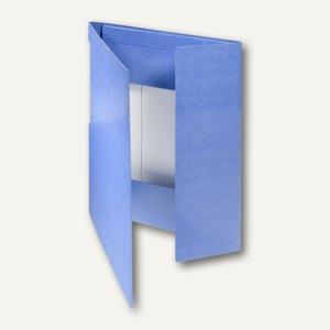FolderSys Eckspanner-Sammelbox A4, blau, Karton, 30 Stück, 1001440