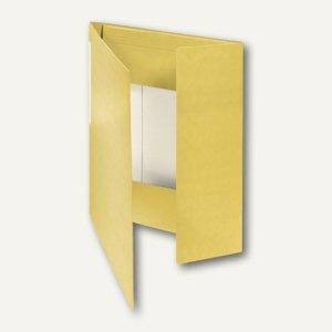 FolderSys Eckspanner-Sammelbox A4, gelb, Karton, 30 Stück, 1001460