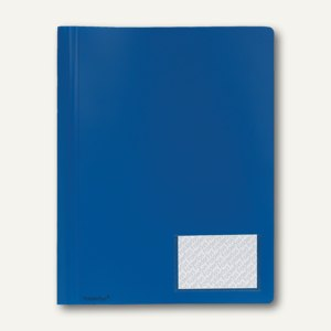 FolderSys Multi-Hefter A4, PP, blau, 30 Stück, 1100440