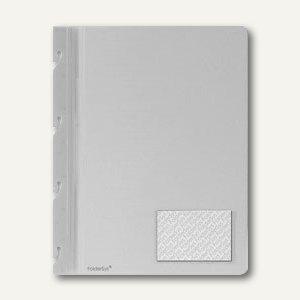 FolderSys Einhak-Hefter DIN A4, PP, weiß, VE 50 Stück, 1102110