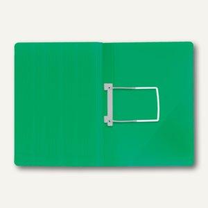 FolderSys Einhak-Hefter DIN A4, PP, grün, VE 50 Stück, 1102150