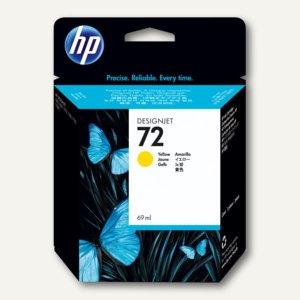 HP Tintenpatrone Nr. 72 gelb, 69 ml, C9400A