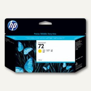 HP Tintenpatrone Nr. 72 gelb, 130 ml, C9373A