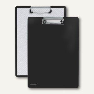 FolderSys Klemmbrett DIN A4 aus PP, schwarz, 30 Stück, 8000130