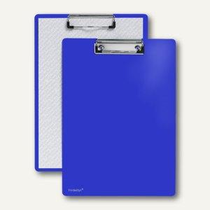 FolderSys Klemmbrett DIN A4 aus PP, blau, 30 Stück, 8000140