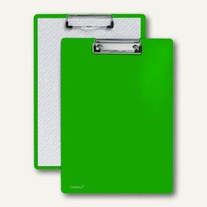 FolderSys Klemmbrett DIN A4 aus PP, grün, 30 Stück, 8000150