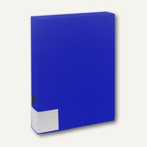 FolderSys Dokumentenbox für DIN A4, PP, Breite 55mm, blau, 10 Stück, 3000240