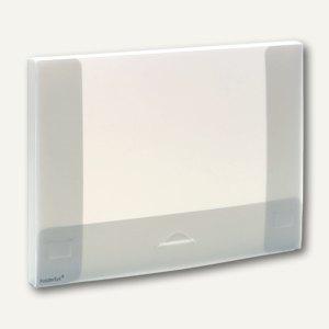 FolderSys Dokumentenbox A4, PP, Breite 18 mm, transparent, 20 Stück, 3000404