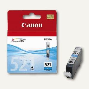 Canon Tintenpatrone CLI-521C, cyan, 9 ml, 2934B001