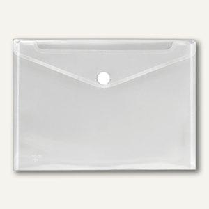 Dokumententasche DIN A3 CRYSTAL, PP transparent, ca. 100 Blatt, 10 Stück