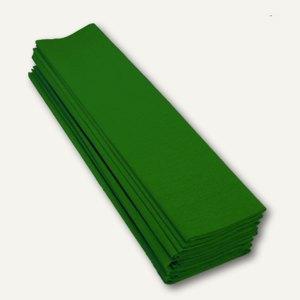 Clairefontaine Krepp-Papier, 50 x 70 cm, dunkelgrün, 10 Stück, 901050C