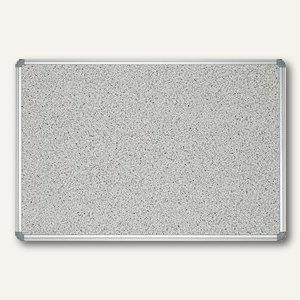 "Hebel Pinnboard ""Office"", Struktur, 100 x 150 cm, Aluminiumrahmen, grau, 6278984"