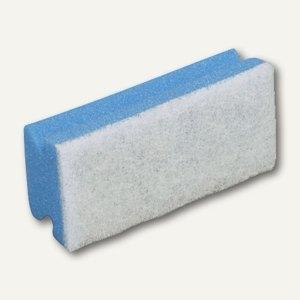 Vileda Padschwamm, 7 x 15 cm, kratzfrei, blau/weiß, 10 Stück, 102562 101882