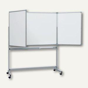 Hebel Mobile Klapptafel, 2 ausklappbare Flügel, Schreibfläche 6 m², 6338184