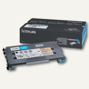 Lexmark Tonerkartusche cyan, C500H2CG