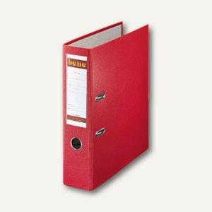 Bene Ordner DIN A4, Rückenbreite 80 mm, rot, 291400 RT