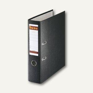 Bene Ordner DIN A4, Rückenbreite 80 mm, schwarz, 291400 SW