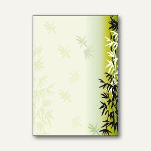 """Sigel Motivpapier """"Bamboo"""", DIN A4, 90 g, 50 Blatt, DP789"""
