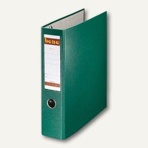 Bene Postscheckordner DIN A4, Rückenbreite 75 mm, grün, 292900 GN