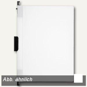 FolderSys Combi-Clip-Mappe, DIN A4, weiß, 50 Stück, 13005-10