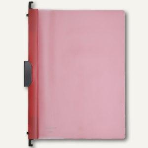 FolderSys Combi-Clip-Mappe, DIN A4, rot, 50 Stück, 13005-80