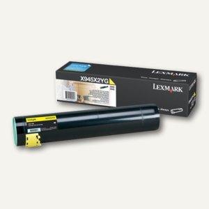 Lexmark Tonerkartusche gelb, ca. 22.000 Seiten, X945X2YG