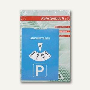 RNK Fahrtenbuch für PKW, DIN A5 hoch, 2 Stück + Parkscheibe, 3120/2