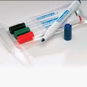 Ultradex Whiteboardmarker, Rundspitze: 4 mm, sortiert, 4er Set, 845899