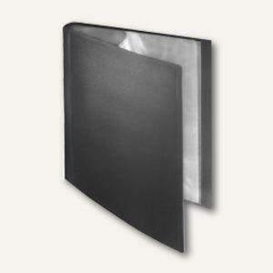 FolderSys Soft-Sichtbuch DIN A4, incl. 50 Hüllen, schwarz, 20 Stück, 25805-30