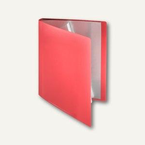 FolderSys Soft-Sichtbuch DIN A4, incl. 50 Hüllen, rot, 20 Stück, 25805-80
