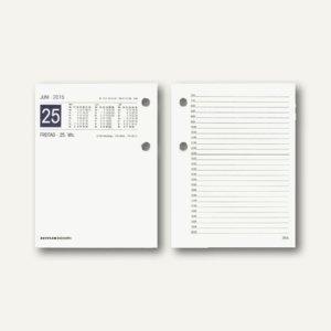 Zettler Umlegekalender Ersatzkalendarium - 11 x 15 cm, 1 Tag/2 Seiten, 338