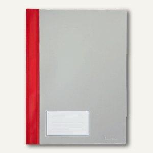 Bene Kunststoff Schnellhefter DIN A4, rot, 281100