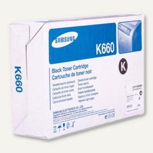 Samsung Toner schwarz, ca. 2.500 Seiten, CLP-K660A/ELS