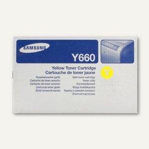 Samsung Toner gelb, ca. 5.000 Seiten, CLP-Y660B