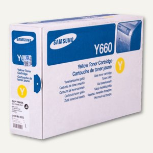 Samsung Toner, ca. 2.000 Seiten, gelb, CLP-Y660A/ELS