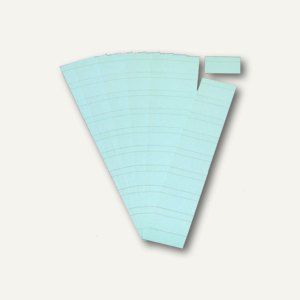 Ultradex Steckkarten für Planrecord Tafeln, 5 cm, himmelblau, 90er Pack, 140506