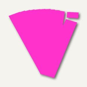 Ultradex Steckkarten für Planrecord Tafeln, 7 cm, magenta, 90er Pack, 140714