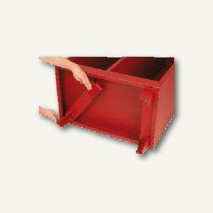 officio Fuß-Set für Feuerwehrschrank, zur Selbstmontage, H 13 cm, FFS