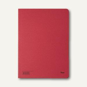 Bene Aktenumschlag, DIN A4, Karton, 250 g/qm, rot, 81900