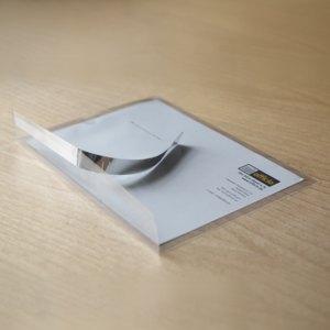 Briefumschläge Folie PP DIN C5, 100 my, haftklebend, transparent, 1.300 Stück, 2