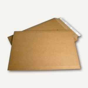 Versandtaschen Suprawell, 370x540 mm, haftklebend, braun, 75 Stück