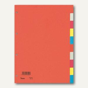Bene Farbregister, DIN A4, 10 Blatt, farbig, 97410