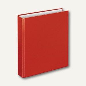 """Ringbücher """"Basic"""", DIN A5, PP, 2 D-Ringe Ø 25 mm, rot, 10 Stück, 1151020"""