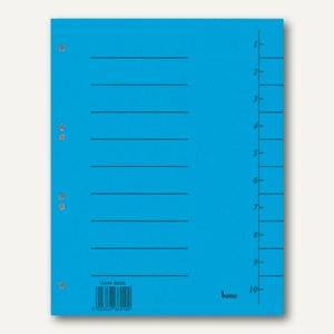 Bene Trennblätter DIN A4, 50 Stück, 98300 blau