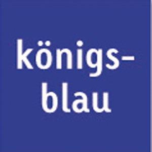 Heyda Tonpapier, 50 x 70 cm, 130 g/m², königsblau, 25 Bögen, 204711238