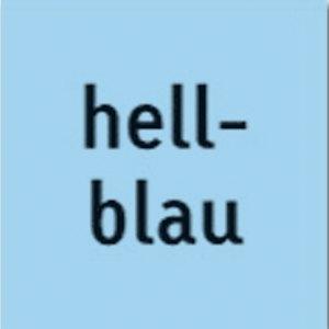 Heyda Tonpapier, 50 x 70 cm, 130 g/m², hellblau, 25 Bögen, 204711232