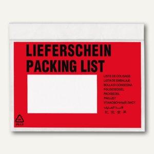 """Veloflex """"TURA-Versandtaschen, DIN C6, """"Lieferschein"""", 1.000 Stück, 2064000"""