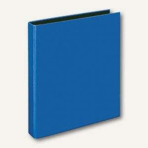 Ringbücher VELOCOLOR® Classic, A4, Karton, 2 D-Ringe Ø 25 mm, blau, 10 Stück, 11
