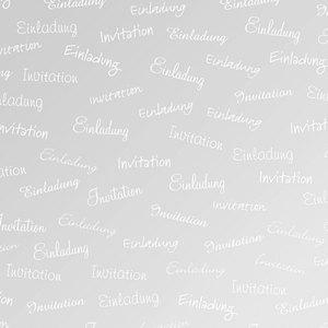 "Heyda Transparentpapier ""Einladung"", DIN A4, 115 g/m², 25 Blatt, 204878957"