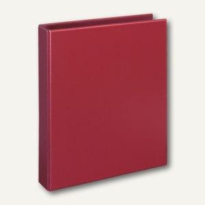 """Ringbücher """"Basic"""", DIN A4, PP, 4-D-Ringe Ø 25 mm, rot, 10 Stück, 1143020"""